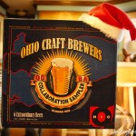 Ohio Craft Brewers Sampler Pack with a hat