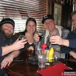 A group of Beer Aficionados Enjoy the Wood Aged Beer!