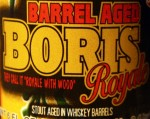 Closeup of the BA BORIS Royale label