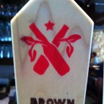 A tap handle at Market Garden