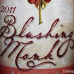 The Beautiful Label for Blushing Monk 2011