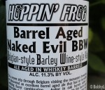 Barrel Aged Naked Evil Label