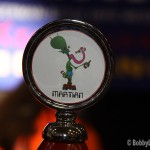 Buckeye Martian Tap Handle at the 2012 International Beer Fest